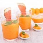 soupe de melon fève tonka