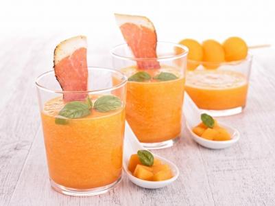 Recette : soupe de melon aux fèves tonka !