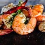 crevettes grillées façon thai