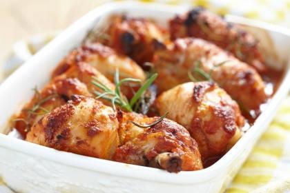 Recette : Cuisses de poulet grillé au paprika au four
