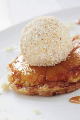 Recette : tarte tatin d'ananas à la cannelle !