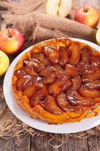 tarte tatin aux pommes poivre tasmanie