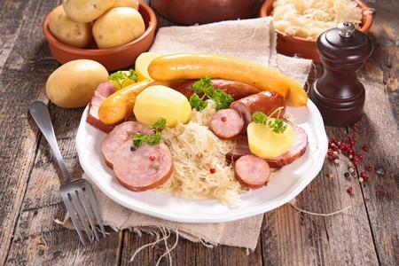 Choucroute d'alsace traditionnelle