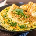 omelette poivre et sel aux truffes