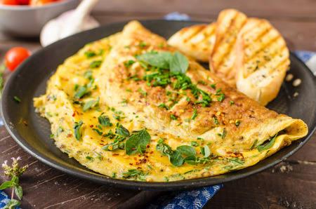 Recette : Omelette au poivre et sel à la truffe !