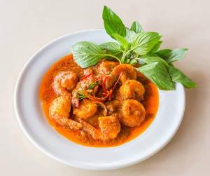 Recette : crevettes au curry et à la fève Tonka !