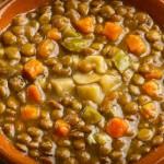 soupe de lentilles aux épices