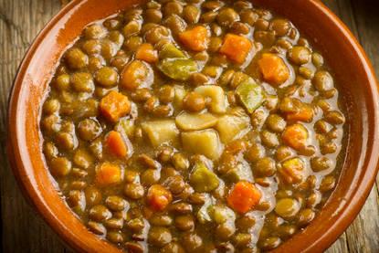 Recette : soupe de lentilles à l'orientale !
