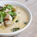 Tom Kha kai soupe noix de coco galanga