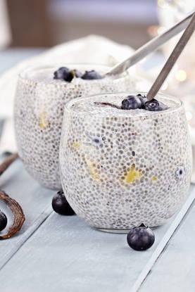 pudding graines de chia vanille