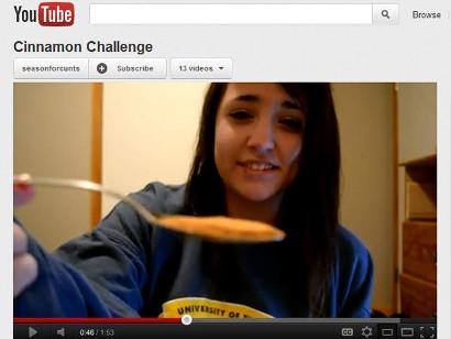 Le défi impossible et dangereux de la cannelle (Cinnamon Challenge)