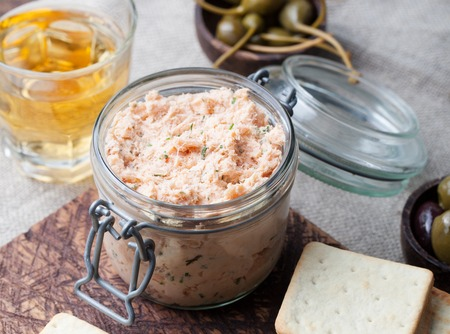 rillettes de saumon au raifort