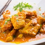 poisson au curry noir lait de coco
