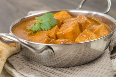 tofu curry noir lait de coco