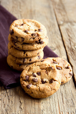 Recette : Cookies aux amandes et pépites de sucre d'érable !