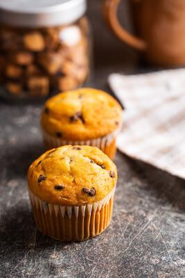 Recette : muffins aux pépites de sucre d'érable !