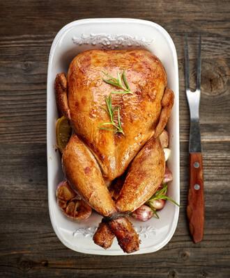 Recette : poulet en croute au sel fou de Guérande !