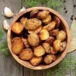 pommes de terre au sel fou