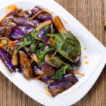 aubergine sichuanaise poivre de sichuan