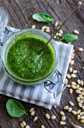 Recette : Sauce pesto vert à la spiruline !