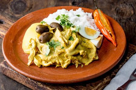 Recette : Aji de gallina du Pérou (poulet au piment) !