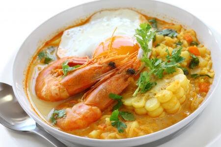 Recette : Chupe de camarones (soupe d'écrevisses péruvienne) !