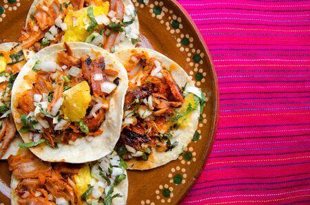 Recette : Tacos al pastor