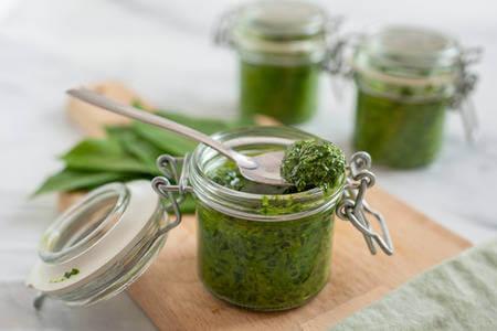 Recette : Sauce Pesto à l'ail des ours !
