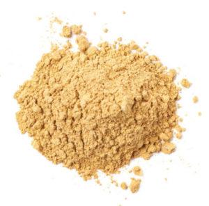 gingembre moulu en poudre